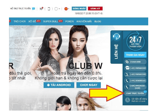 Dịch vụ W88 Live